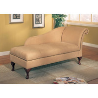 TMS Leena Cotton Storage Chaise Lounge