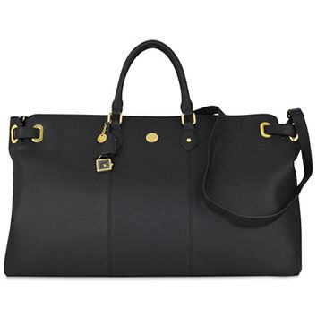 Joy Mangano Christie Leather Weekender Bag | macys.com