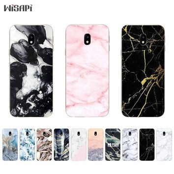 TPU Cases for Samsung Galaxy S8 / S8Plus Phone Case for Galaxy J3 J5 J7 2017 Shell for J3 Prime Cover Retro Marble Pattern Coque