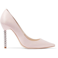Sophia Webster - Coco Crystal embellished satin pumps