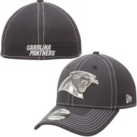 Carolina Panthers New Era Mens Gunner 39THIRTY Flex Hat – Graphite