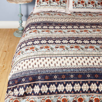 Boho Dreamer's Delight Quilt Set in Full, Queen by Karma Living from ModCloth