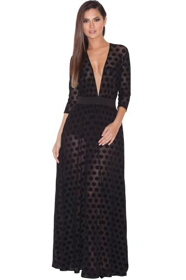 Clothing   Max Dresses    Inesa  Sheer from houseofcb.com 221bd9227