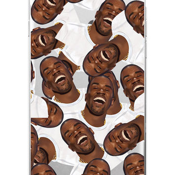 Kimoji Kim Kardashian kanye west north kylie jenner Soft TPU Phone Case Cover Coque For iPhone 7Plus 7 6 6S 5 5S SE 5C 4 4S 14