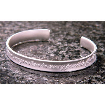 Indulge Your Imagination Sterling Silver