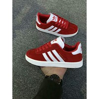 """Adidas"" Women Sport Casual Multicolor Stripe Sneakers Fashion Running Shoes"