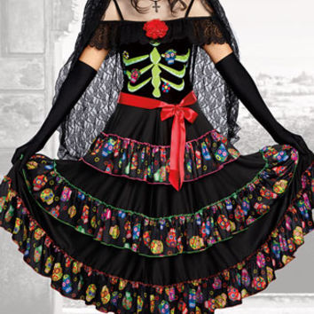 Lady Of The Dead Costume
