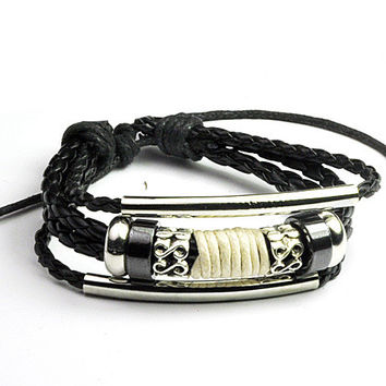 Awesome Gift Great Deal Shiny Hot Sale New Arrival Korean Men Couple Accessory Stylish Strong Character Vintage Bracelet [6526715715]