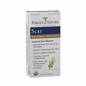 Forces Of Nature Scar Control, Organic, Advanced, Rollerball - 4 Ml