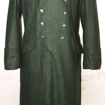 WWII GERMAN WH M36 M1936 FIELD GREY WOOL MILITARY OVERCOAT GREATCOAT COAT IN SIZES