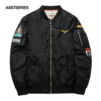 Military Jacket Men Men's MA-1 Style Army Tactical Baseball Jacket Bomber Jackets And Coats For Men Male Militar Chaqueta 6XL