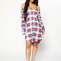 Checkmate II Dress - Purple