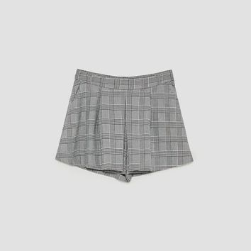BOX PLEAT SKORTS