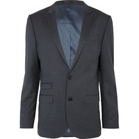 River Island MensBlue slim suit jacket