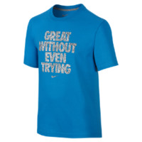 """Nike """"Great Without Even Trying"""" Boys' T-Shirt"""