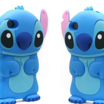 Lilo & Stitch phone case for iphone 7 7 plus 8 8 plus 6 6s 6plus 6s plus + Nice gift box! -LJ-008