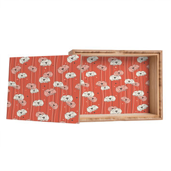 Heather Dutton Red Poppy Field 1 Storage Box