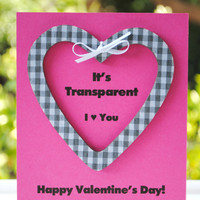 Clear Cut Valentines-Set of 2