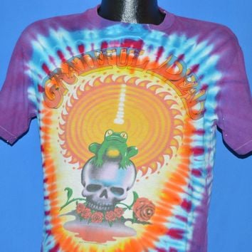 80s Grateful Dead 1987 Fall Tour Tie Dye t-shirt Medium