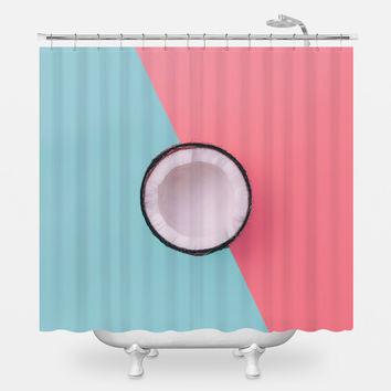 Coconuts for You! Shower Curtain