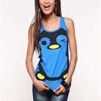 Cutesy Penguin Tank