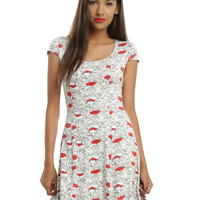 Disney Winnie The Pooh Allover Floral Dress