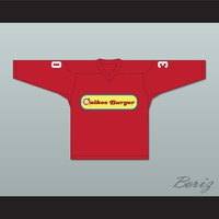 Tenor Brothers 30 Quikee Burger Alternate Hockey Jersey Stuck on You