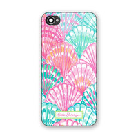 New Lilly Pulitzer Colorful Shell Print Hard Plastic Case For iPhone 6s 6s plus