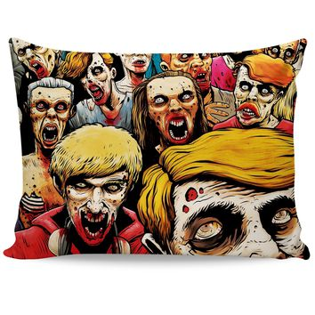ROB Zombies at the Mall Pillowcase