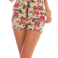 Catch Me Shorts - Floral Print