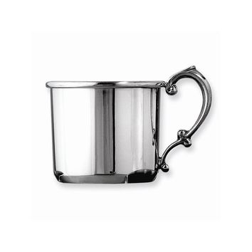 Pewter Baby Cup - Engravable Personalized Gift Item