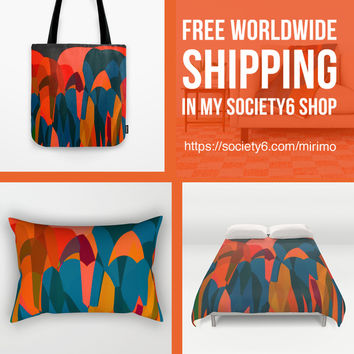 Free ship today! by mirimo | Society6