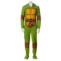 Teenage Mutant Ninja Turtles Hooded Union Suit - Men