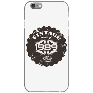 vintage made of 1989 all original parts iPhone 6/6s Case