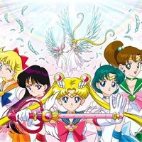 Great Eastern Entertainment Sailor Moon Supers Group 02 Wall Scroll