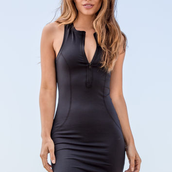 Olympia Activewear - Muse Dress | Jet