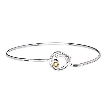 Bella Love Knot Bracelet- Silver Plated Bracelet- Bracelets for Women