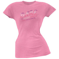 D.A.R.E. - Neon Logo Ladies T-Shirt
