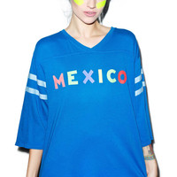 Wildfox Couture Mexico Jersey Tunic Howl