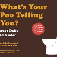2013 Daily Calendar: What's Your Poo Telling You?
