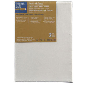Artist's Loft® Necessities™ Canvas Value Pack