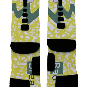 Breaking Bad Walter White Custom Nike Elite Socks