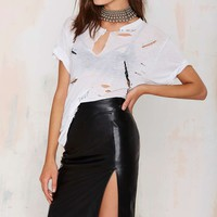 Nasty Gal Roxanna Pencil Skirt