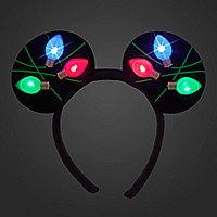 Mickey Mouse Ear Headband - Light Up Holiday
