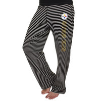 Pittsburgh Steelers Women's Yard Line Pant – Black