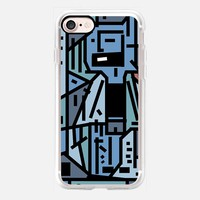 The sad hipster and the copper mosquito iPhone 7 Case by Barruf | Casetify