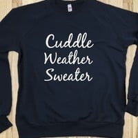 CUDDLE WEATHER SWEATER BLU