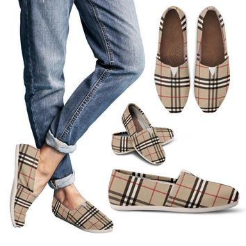 Fashion Online Women's Casual Shoes Inspired By Burberry