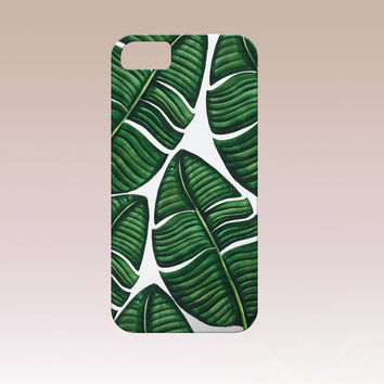 Tropical Iphone Case,Tropical phone case,Leaves iphone case,Tropical i6 phone,  Iphone 6 case , Iphone 5 case, Iphone 4 case, iphone cover