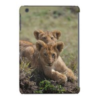 Wild African Lion Cubs iPad Mini case